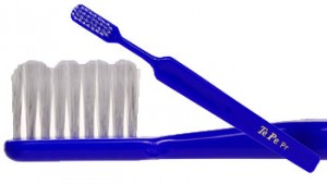 Soft denture toothbrush Picture taken from www.dentist.net/tepe-denture-toothbrush.asp