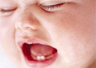 First teeth to erupt in infants @ tylenol.ca