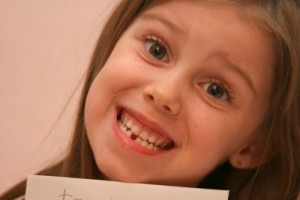 Danas first tooth loss 004spec 300x200 Beware of these in Childrens Teeth Part I