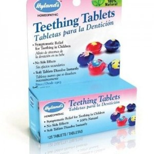 natural teething remediesHylands Teething Tablets 300x300 How to Ease Teething Pain Naturally