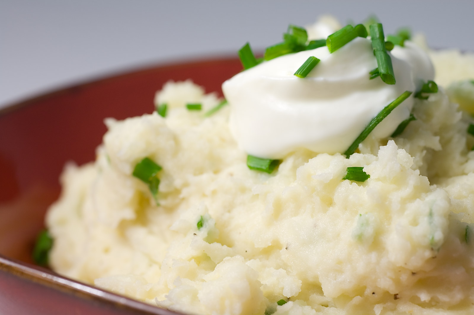Sour Cream Mashed Potatoes Recipe — Dishmaps