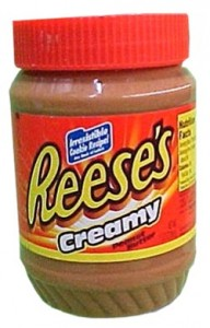 american reese s creamy peanut butter 510g jar 1164 p 192x300 Recipe for Homemade Denture Adhesive