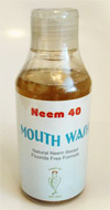 mouthwash How Neem Works