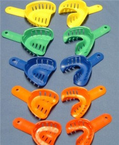 impression trays1 245x300 Understanding Dental Instruments ( Part 2 )