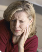 Chronic Myofascial Pain.Image taken from http://www.intelligentdental.com/wp-content/uploads/2009/12/woman_pain.jpg